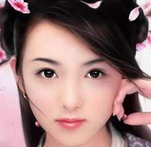 avatar girl xinh do hoa