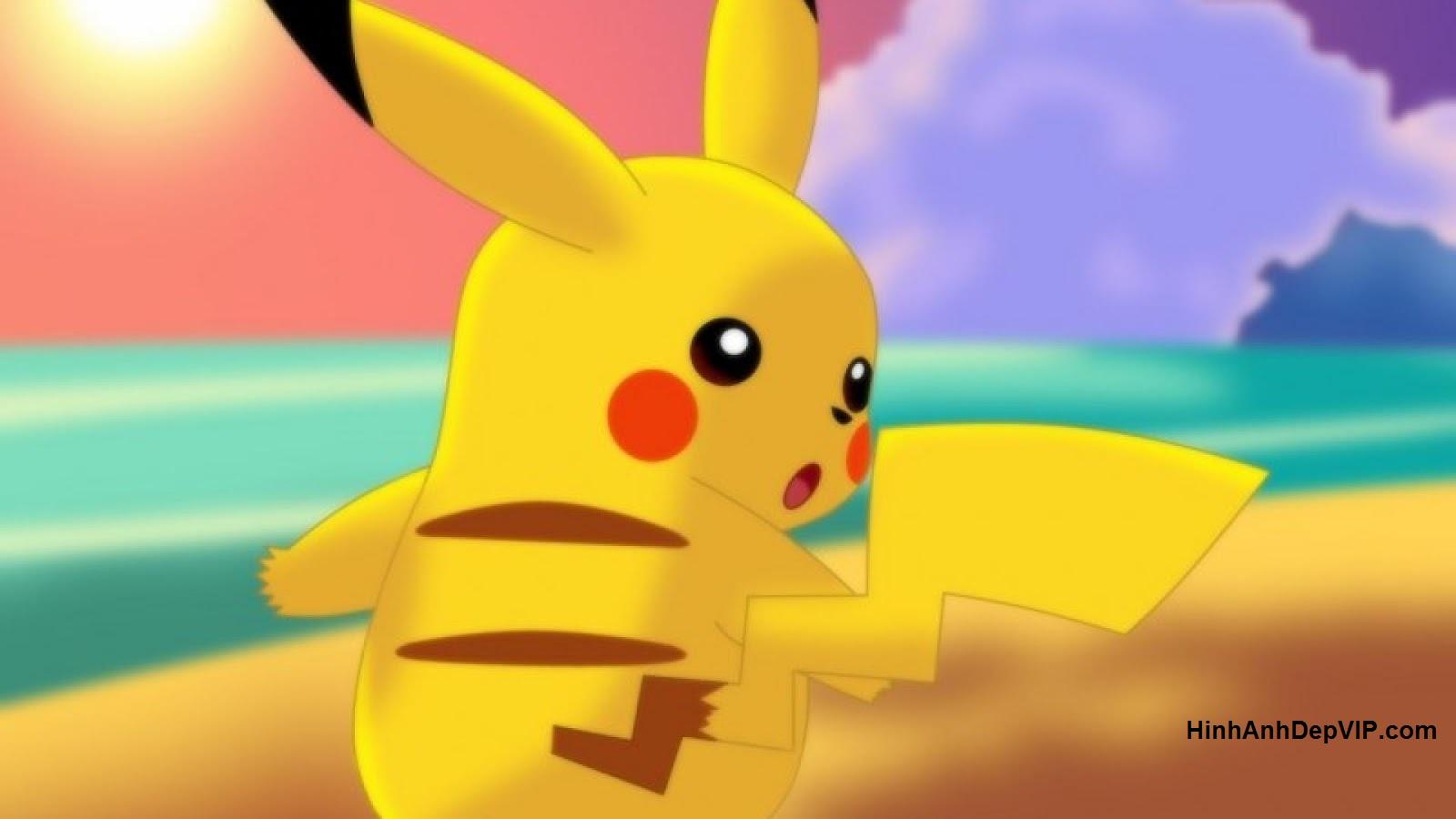 hinh anh pikachu de thuong