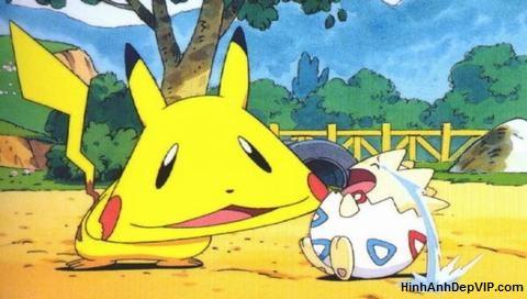 hinh pikachu buon cuoi