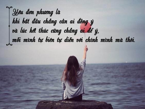 nhung stt tinh yeu don phuong buon