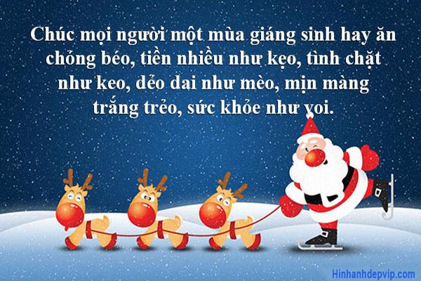 Loi Chuc Giang Sinh Hai Huoc