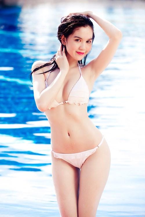 Anh Dep Ngoc Trinh Bikini