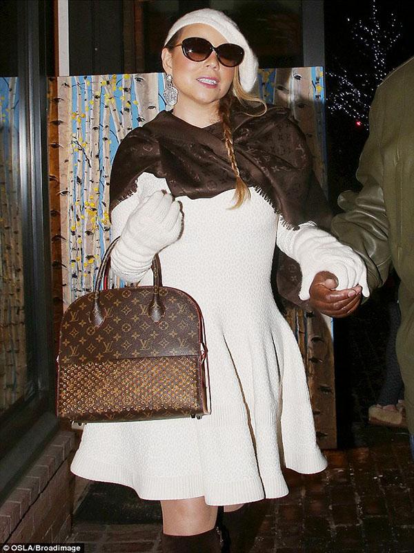 Mariah Carey Tui Xach Louis Vuitton