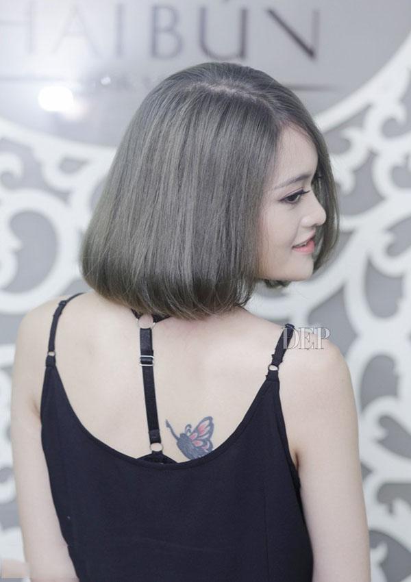 Nhuom Toc Mau Xam Khoi