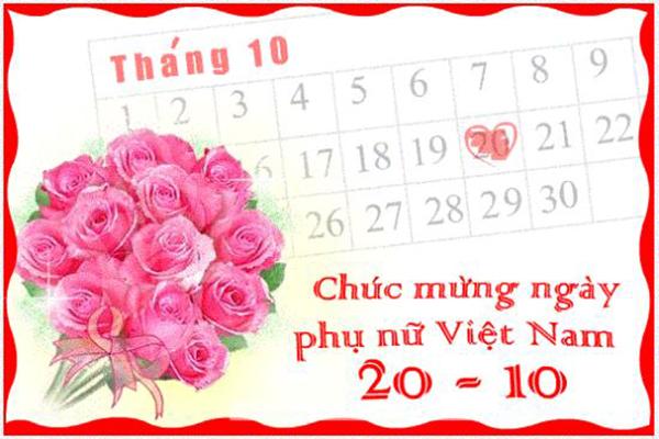 Thiep Chuc Mung Phu Nu 20 10