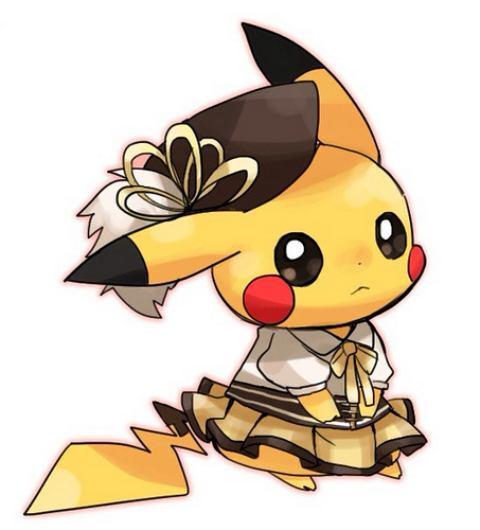 hinh anh pikachu de thuong dep