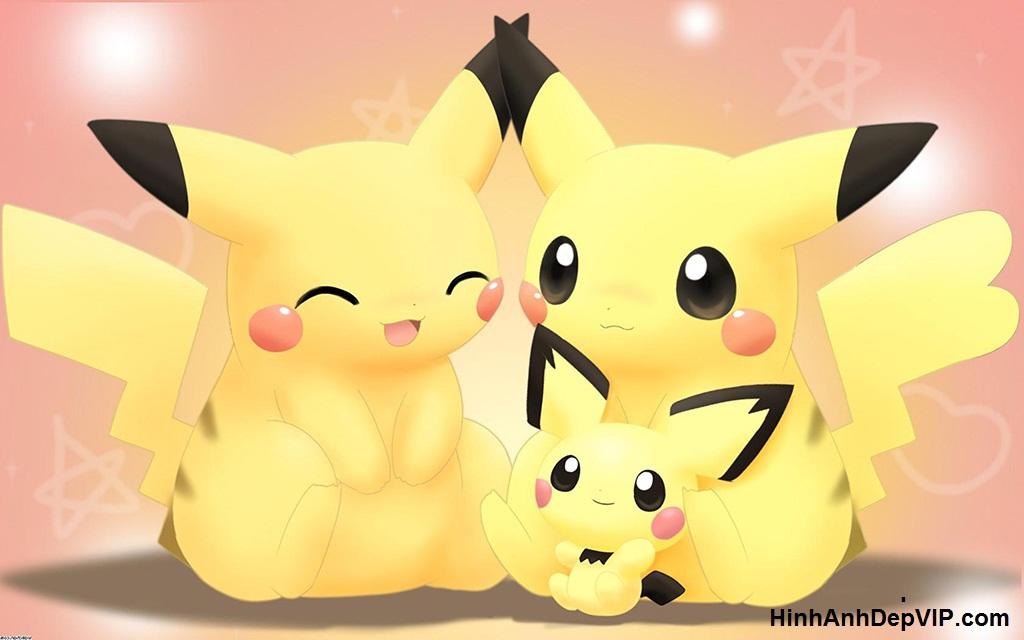 hinh nen hoat hinh pikachu