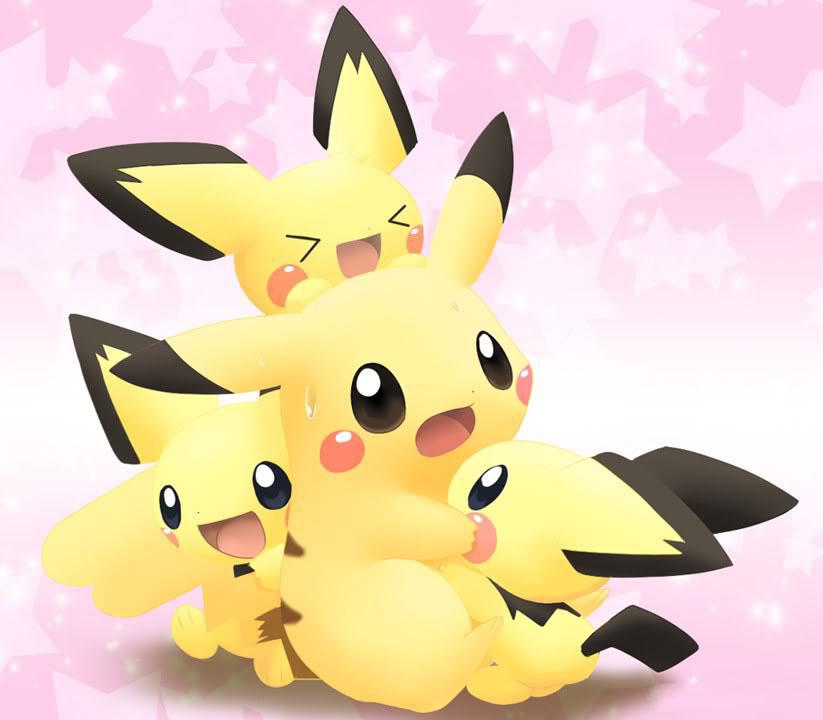 pikachu dang yeu