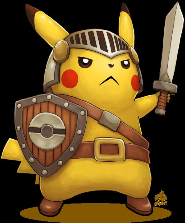pikachu de thuong sieu kute