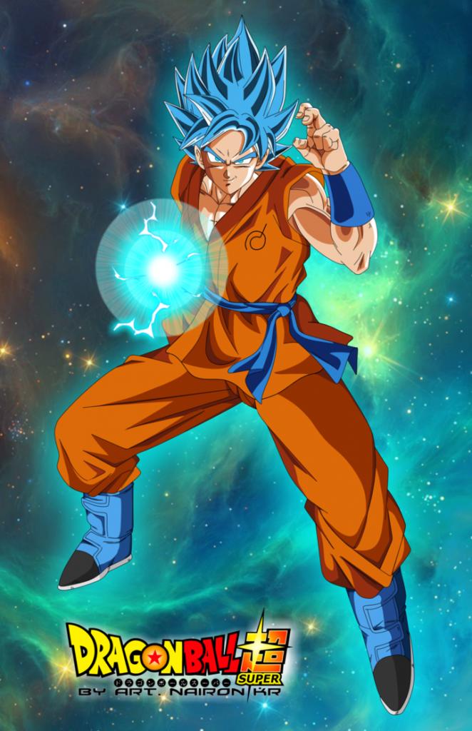 Hình nền điện thoại Songoku Super Saiyan