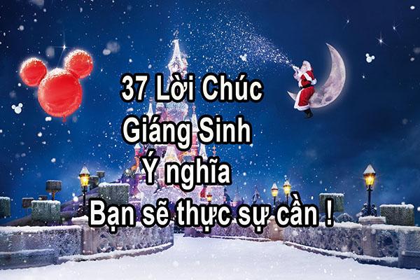 Loi Chuc Mung Giang Sinh Hay Nhat