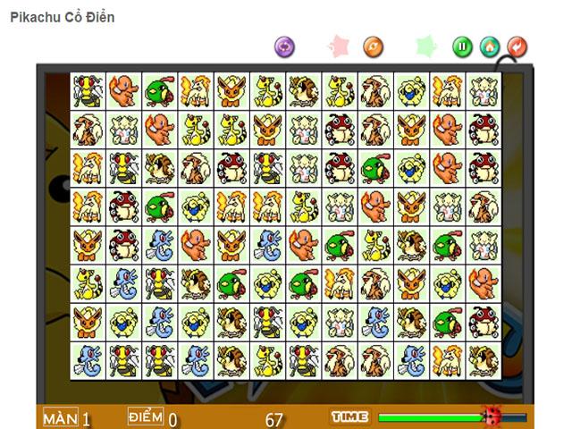 Game Pikachu Co Dien