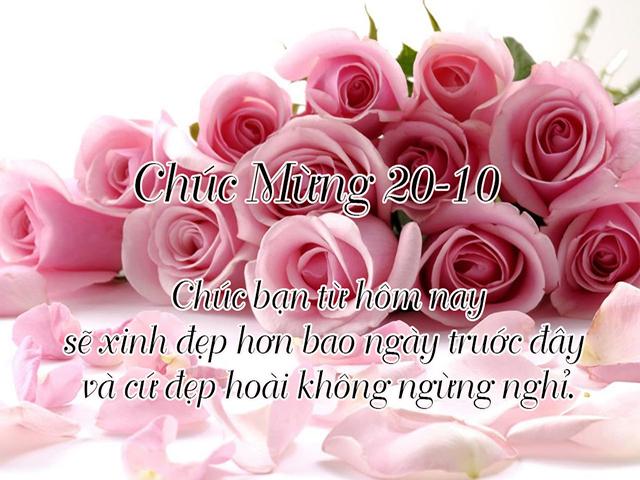Anh Dep Va Loi Chuc Ngay 20 10