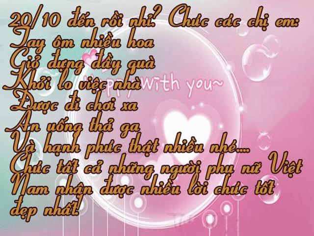 Loi Chuc Y Nghia Ngay 20 10