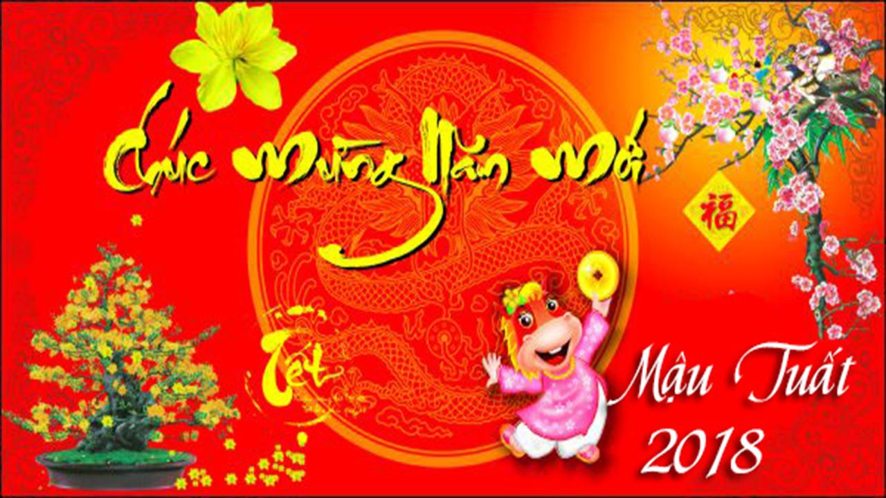 Hinh Nen Nam Moi 2018