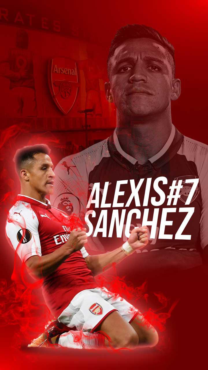 Hinh Nen Bong Da Alexis Sanchez