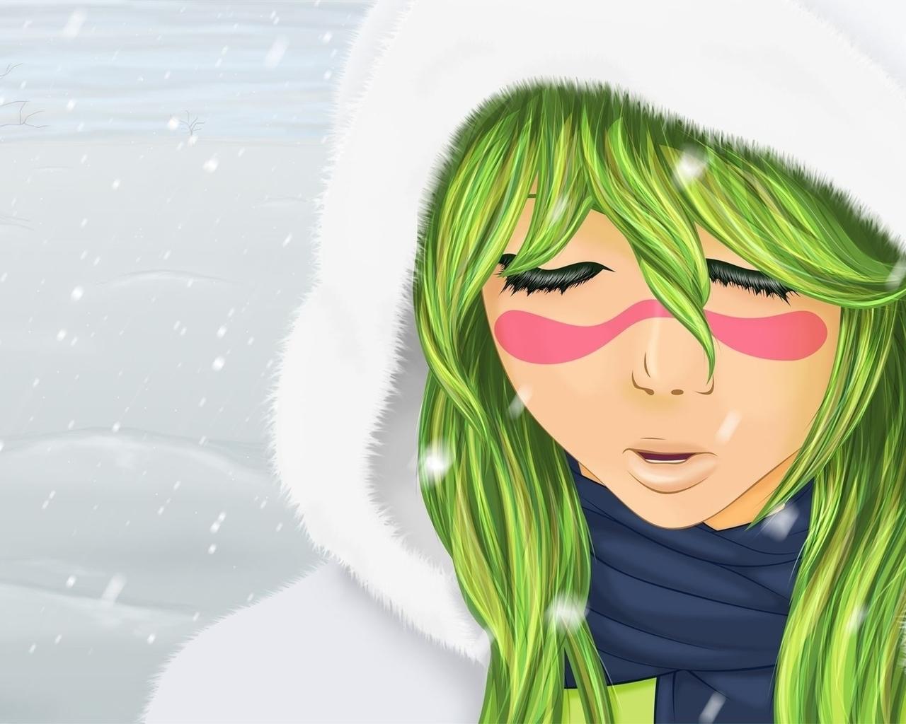 Anime Nu Trong Tuyet Ngau
