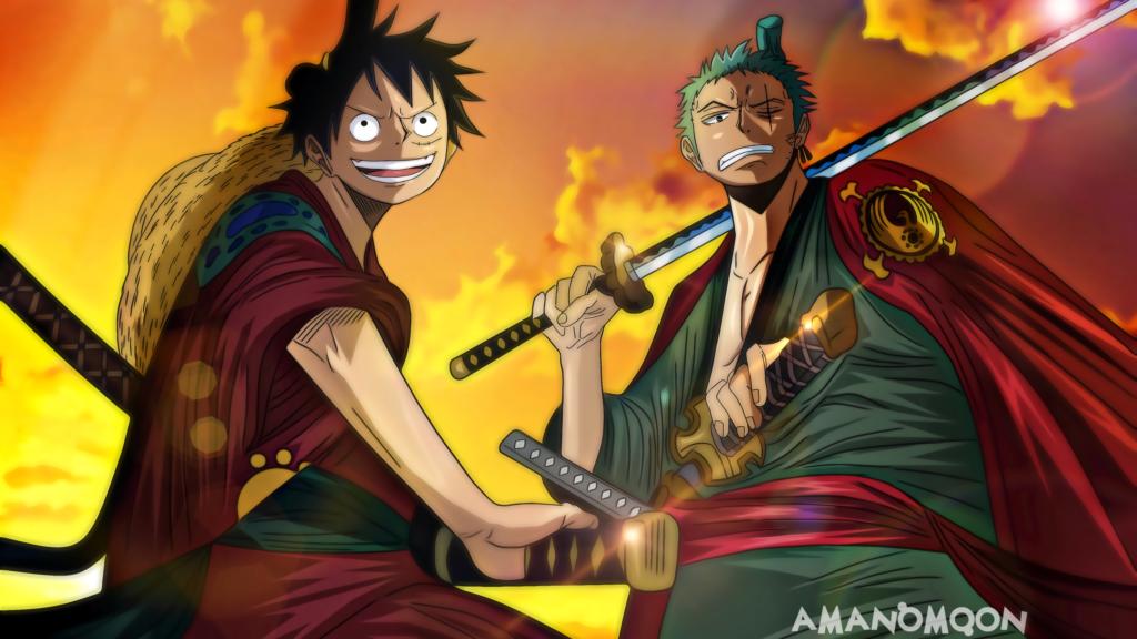 Roronoa Zoro One Piece tho san hai tac tam kiem phai hinh nen
