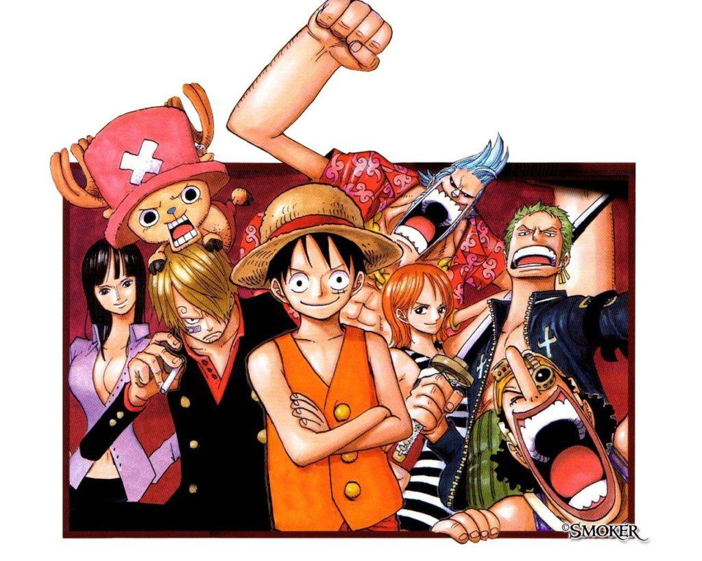 Ảnh Luffy và những người bạn