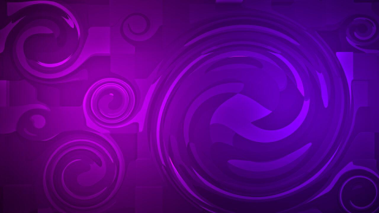 Vòng xoáy màu tím 4K HD Trừu Tượng